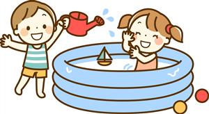 幼稚園の水遊びの服装は濡れてもいい服?水着?年少でも水着を自分で着れる?